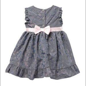Penelope Mack Dresses - Flocked Baby Girl Dress
